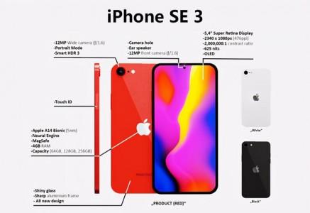 iPhone SE3迎来最新曝光,或是苹果最便宜的5G iPhone!